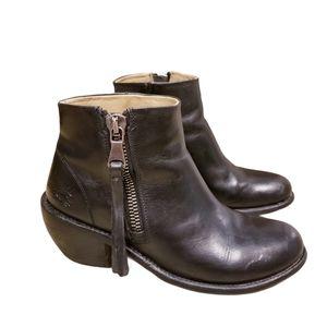 John Fluevog Hi Living Anderson Ankle Boots 8W